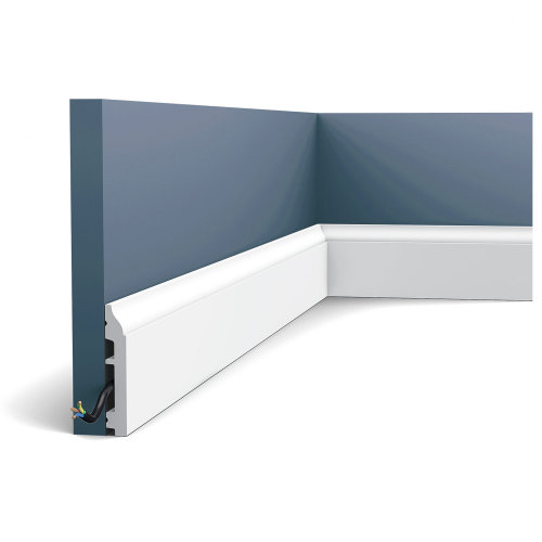 Orac Decor SX172 AXXENT Skirting decorative moulding baseboard molding 2 m