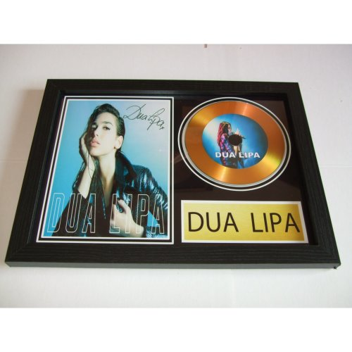 DUA LIPA  SIGNED DISC