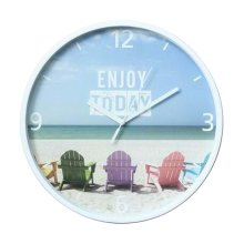 [L] 11 Inch Modern Wall Clock Decorative Silent Non-Ticking Wall Clock