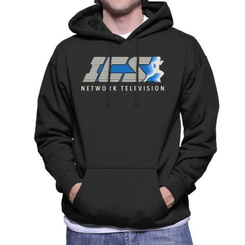 ICS Network Television The Running Man Men's Hooded Sweatshirt
