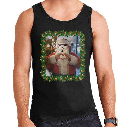 Original Stormtrooper Trooper Santa Christmas Men's Vest