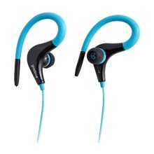 Groov-e Sports Clips Ultra Light Earphones - Blue (GVEB12BE)