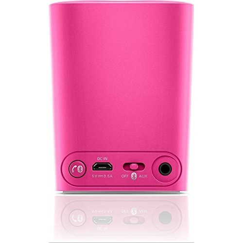 Philips Bt100p27 Anticlipping Bluetooth Portable Speaker pink1