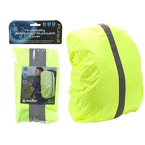 Summit Hi-vis Waterproof Ruck Sack Cover 40 - 50lt