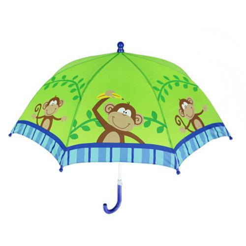 Outdoor Umbrella Childrens Rainy 22Inch Day Umbrella/monkey /Kids Umbrella