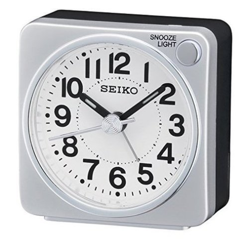 Seiko Alarm Clock Analogue (QHE118S)