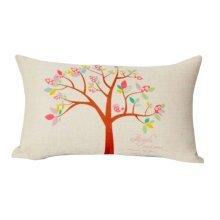 Simple Practical Office Rectangle Pillow Beautiful Lumbar Pillow, A3