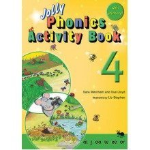 Jolly Phonics Activity Book 4: Ai,j,oa,ie,ee,or