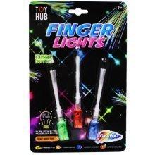 LED Finger Fibre Optic Torch Boys Girls Stocking Filler Sensory Toy Party Gift