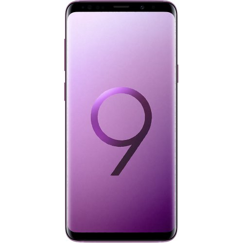(Unlocked, 64GB) Samsung Galaxy S9+ Hybrid Sim - Lilac Purple