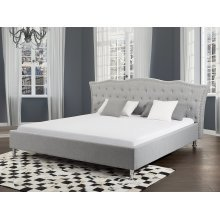 Kingsize bed - Upholstered - 160x200 cm - Storage - METZ