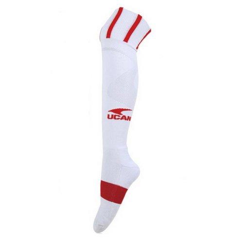 Knee Football/Soccer Sock Mens Elite Sock Red Thick Socks