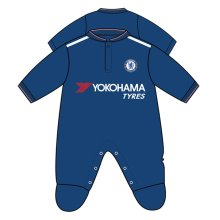 Chelsea Unisex Official Sleepsuit 9, Multi-colour, 9-12 Months - Baby Fc Rw 912 -  chelsea sleepsuit baby fc official rw 912 months football new