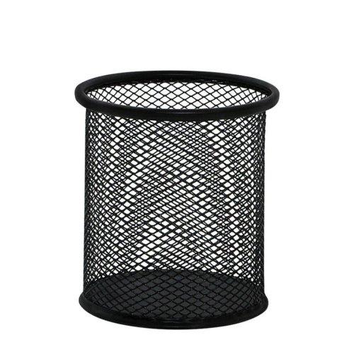 Q Connect Mesh Pen Pot - Black