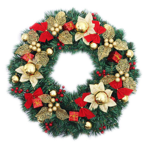 Nice Christmas Wreath 20 Inches Holiday Ornaments Wreath