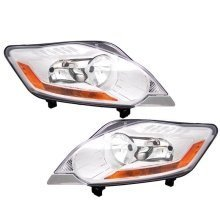 Ford Kuga 2008-2013 Headlight Headlamps 1 Pair O/s & N/s