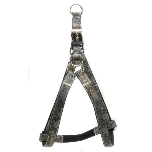 25mm x 600-1000mm Black Phantom Dog Harness - Envy 25x60100cm -  envy phantom dog harness black 25x60100cm