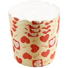 Set Of 3 Heat-Resistant Baking Cups/Cupcake&Muffin/Ice Cream Cups A