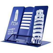 Book Stand Book Holder Adjustable Foldable Book Stand Cute [L]