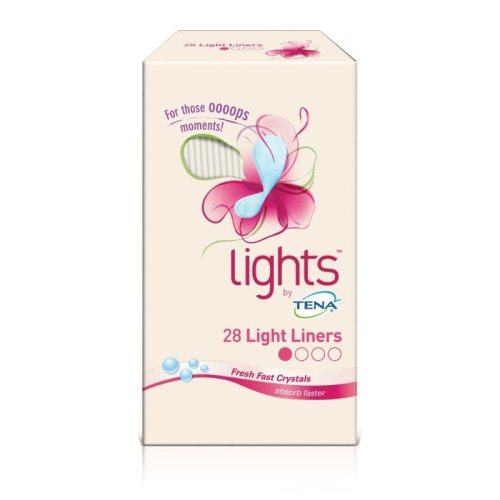Lights by TENA 28 Liner pads