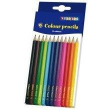 Pbx2470387 - Playbox - Colour Pencils - Thin - 12 Pcs