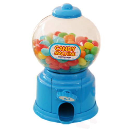 Functional Home Decor Ornament Money Bank Coin Box, Candy Storage Box, Blue