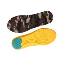 """Camouflage Memory Foam Orthotics Arch Pads Pain Relief Shoe Insoles (S, 9"""")"""