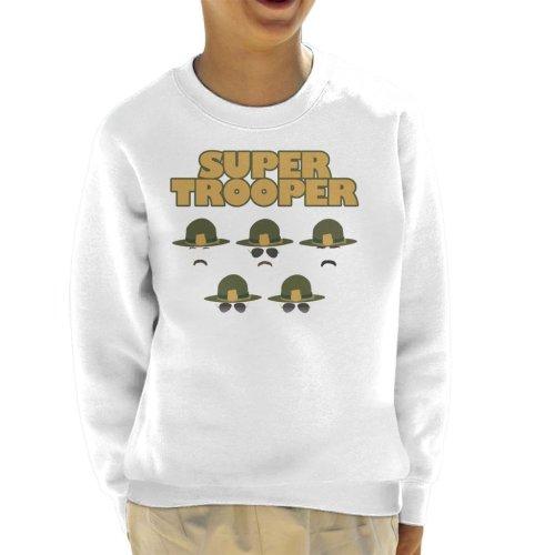 Super Trooper Head Silhouettes Kid's Sweatshirt