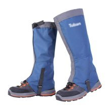 Hiking/Climbing/Camping/Skiing Upgraded Shoes Gaiter For Adult- Blue