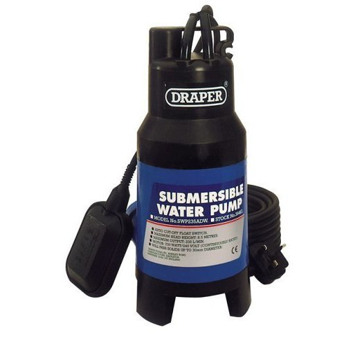 Dirty Water Pump 8.5m Lift230v - Submersible Draper 230v 235lmin 85m Lift 700w -  submersible water draper dirty pump 230v 235lmin 85m lift 700w