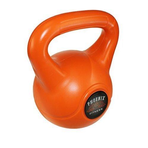Phoenix Fitness Unisex Kettle Bell, Orange, 12kg - Bell -  kettle bell 12kg