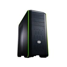 "Cooler Master Cm 690 Cms-693-gwn1 Iii Green Edition ""dual Usb 3.0 Mid Tower, Full Mesh Front Panel and Top"" Black & Green"