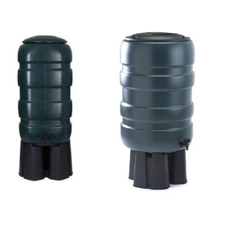 Water Butt Rain Water Storage Tank Slimline Garden Container With Free Pre Drilled Tap Kit