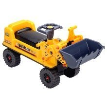 deAO Childrens Ride on Excavator Digger Kids Farm Outdoor Toy Ride On Tractor DIGGER