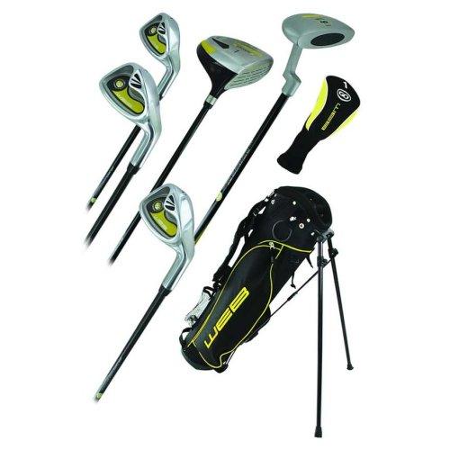 Go Junior Childrens 7 Piece Golf Starter Kids Package Set Age 4-5 Left Handed