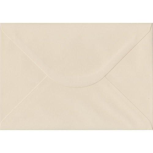 Ivory Gummed C5/A5 Coloured Ivory Envelopes. 130gsm FSC Sustainable Paper. 162mm x 229mm. Banker Style Envelope.