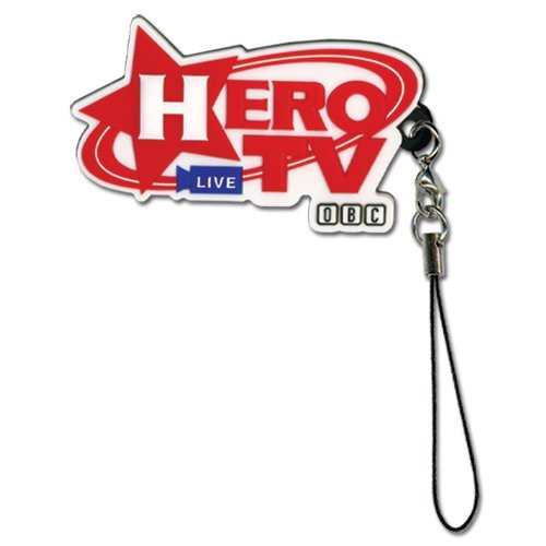 Cell Phone Charm - Tiger & Bunny - New Hero TV Logo Sign Toys Anime ge17039