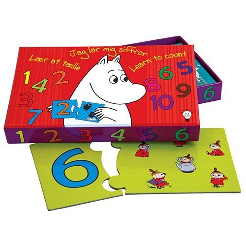 Barbo Toys - 7050 - Moomins Learn to Count Learning Game