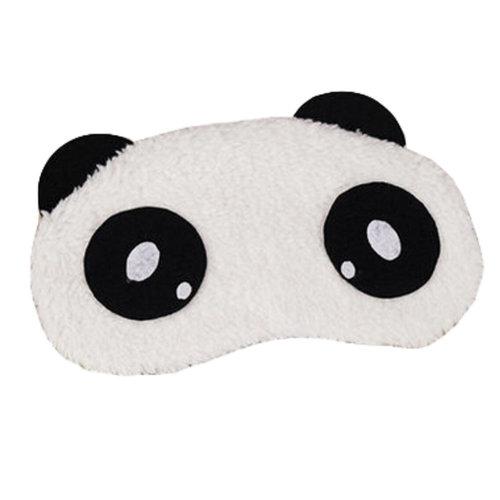 Cute Panada Sleeping Eye Mask Sleep Mask Eye-shade Aid-sleeping,E