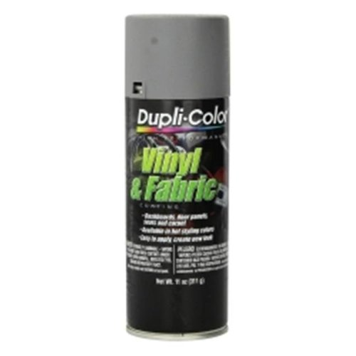 Krylon HVP109 11 oz Dupli Color High Performance Vinyl & Fabric Spray, Medium Gray