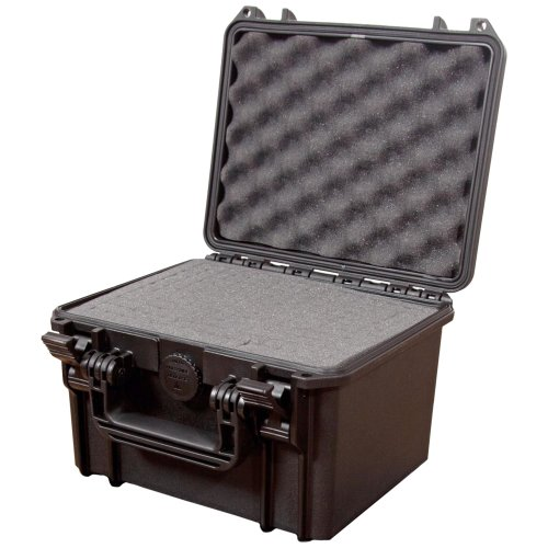 Max MAX235H155S IP67 Rated Waterproof Durable Watertight Equipment Photography with Hard Carry Plastic Case/Pick and Pluck Foam/Flight Case Tool Box