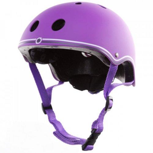 Globber Junior Protective Helmet Violet XS/S (51-54cm) Bike and Scooter Helmet Use In Outdoor Activities