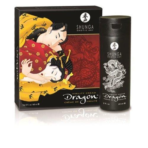 Shunga Dragon Virility Cream For Male Stimulation With Fire & Ice Sensations