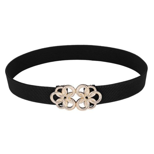 2017 Fashion Solid Women\'s Belt Female Vintage Cutout Cummerbund Elastic Belts Waistband  Wide Belt Decoration ceinture femme
