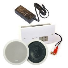 20w Analogue In-wall Amplifier Inc Stereo Speaker
