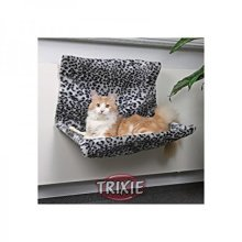 Trixie 43148 Lounging Hammock For Radiator Snow Leopard Pattern 58 x 30 x 38cm -  snow leopard trixie radiator lounging hammock pattern 58 30 38 cm