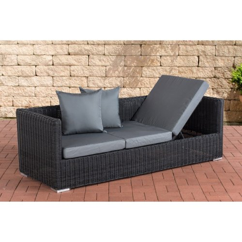 Lounge sofa Solano 5mm ironGrey