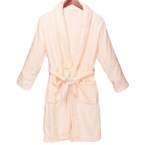 Casual Pajama Set Warm Sleepwear Men/Lovers Flannel Nightgown XX-large-A1