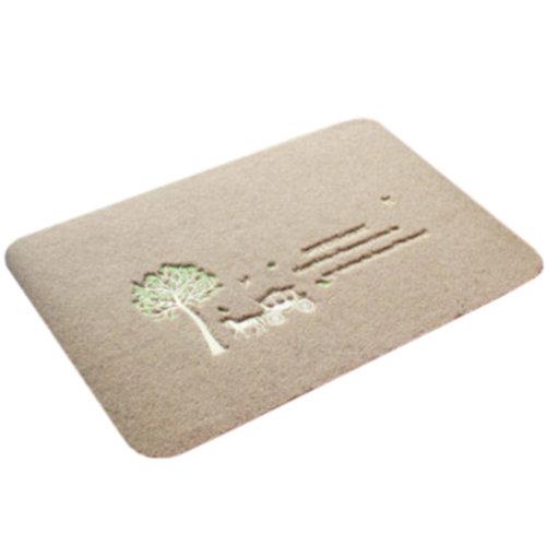 Household Outdoor/Indoor Doormats Antiskid Floor Mat Carpet Rug Footcloth NO.01