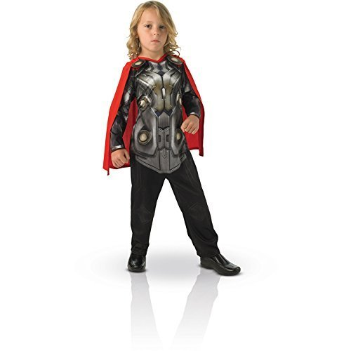Rubie's 3886590 Thor 2 Flat Chest Child Costume Size: M